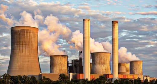 Destructive impact of coal power plants